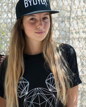 Camiseta de Algodón Orgánico Negro