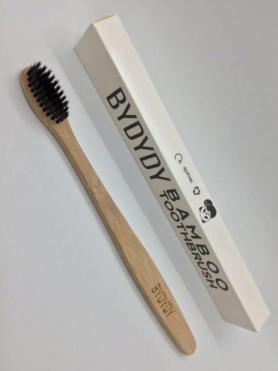 Cepillo de Dientes de Bambú Natural