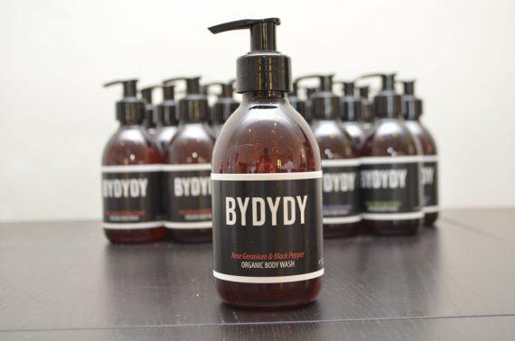 Rose Geranium & Black Pepper Organic Body Wash