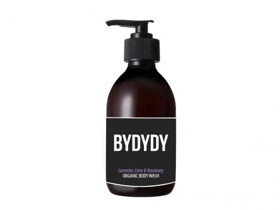 Lavender, Lime & Rosemary Organic Body Wash