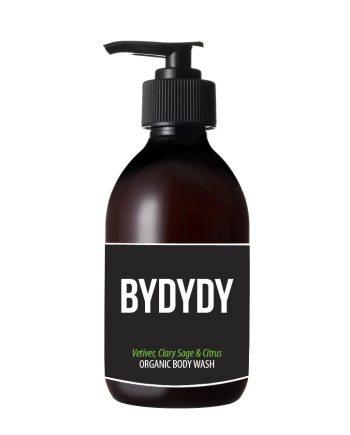 Vetiver, Clary Sage & Citrus Organic Body Wash